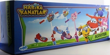 HARİKA KANATLAR Paten & Kaykay & Scooter Renkli
